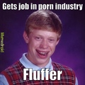fluffer keeps the dude hard
