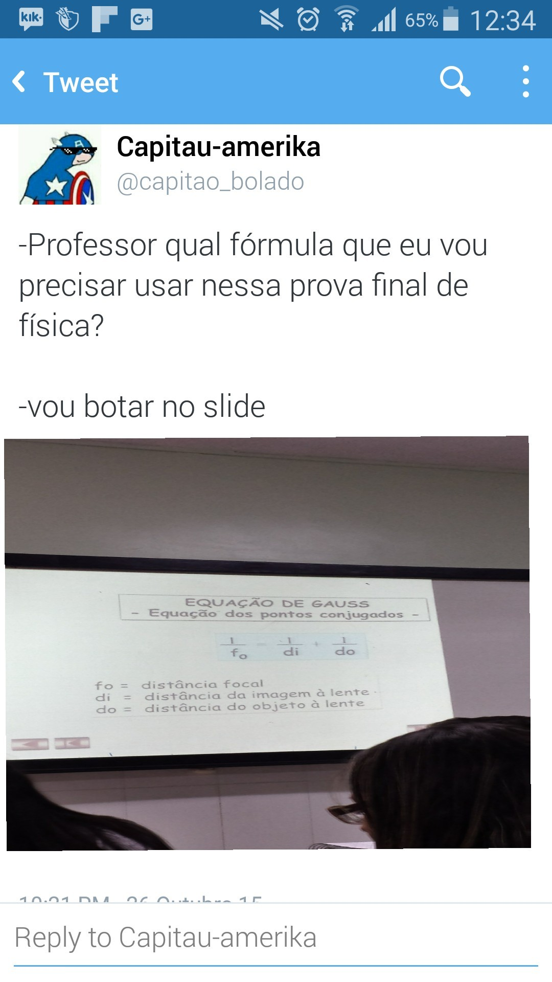 Pq fãs içu professor? - meme