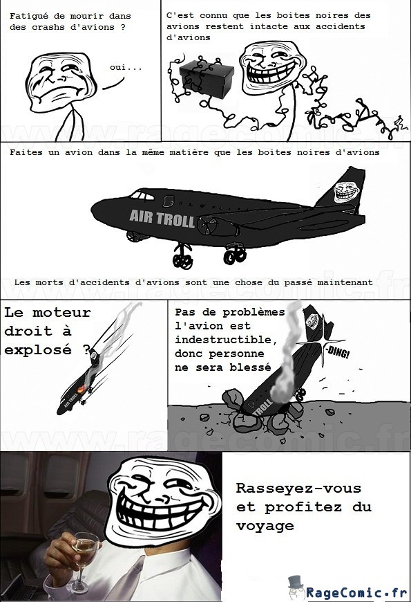 Avion indestructible - meme