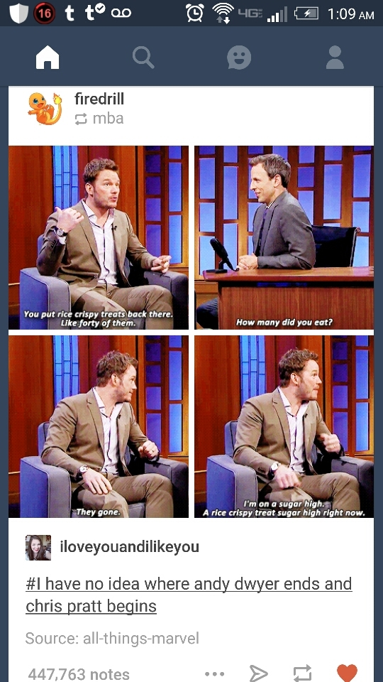 Chris Pratt for president - meme