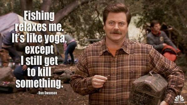 Yoga is 4 pussies - meme