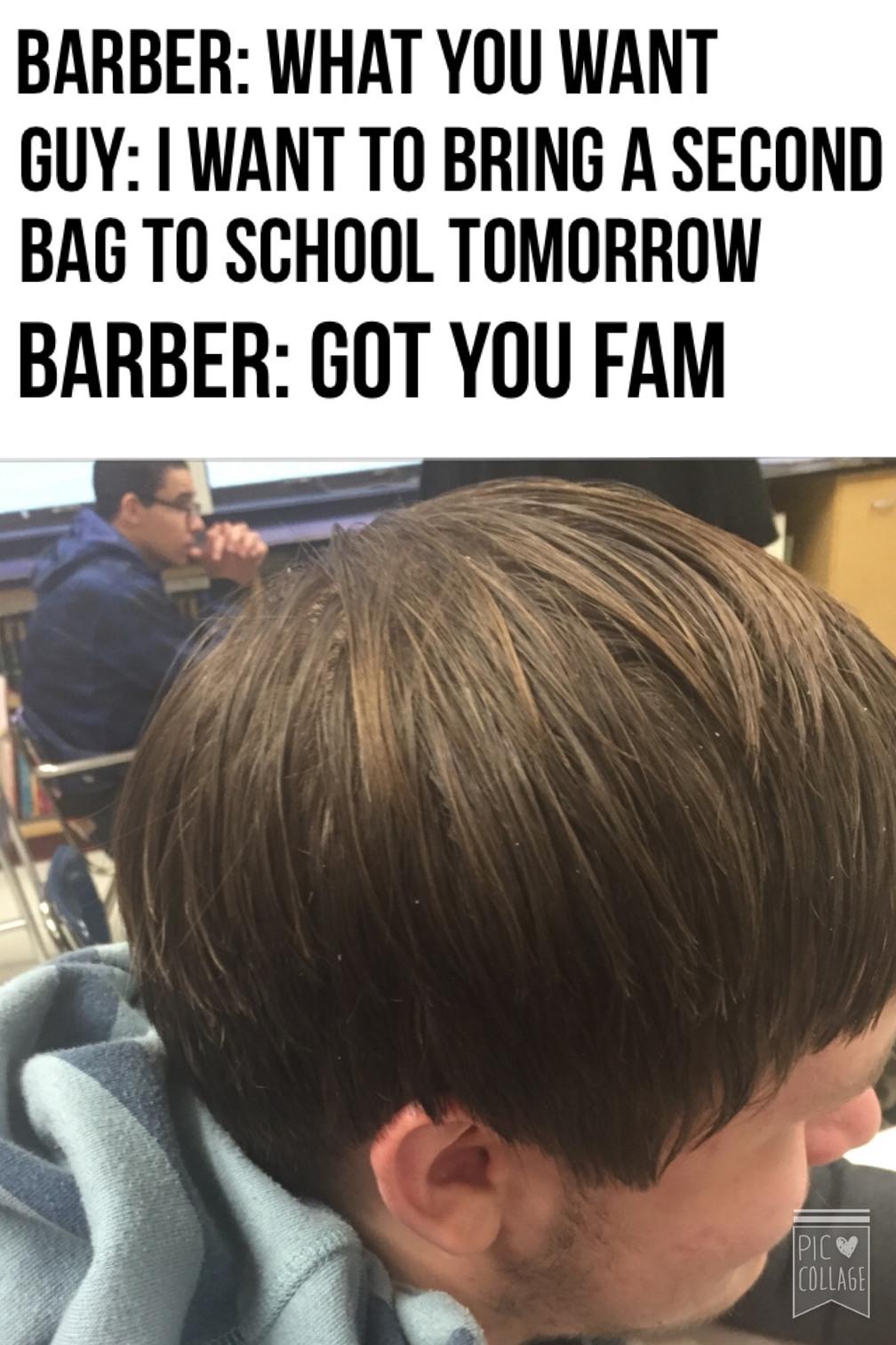 second bag - meme