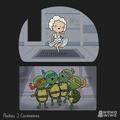 Turtles get freaky
