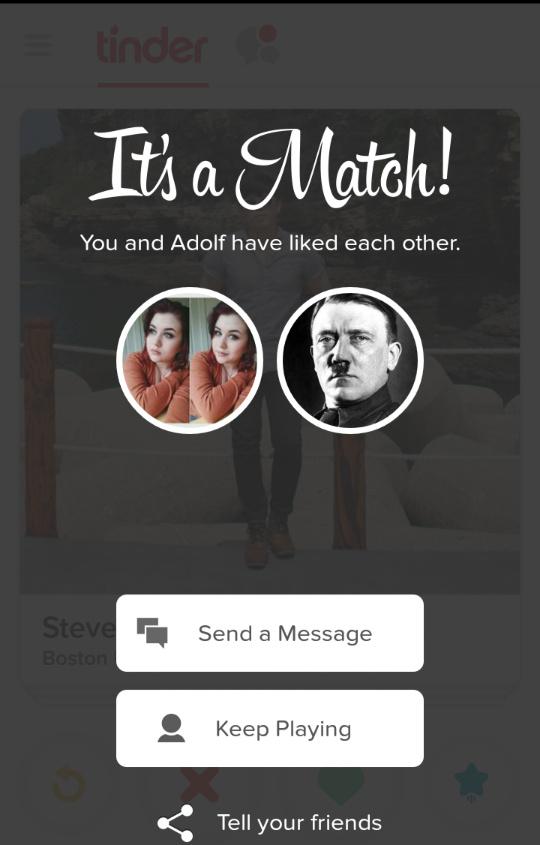 Even Hitler had a girlfriend - meme