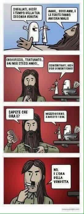 Hitler in realtà è jesus? WTF?! - meme