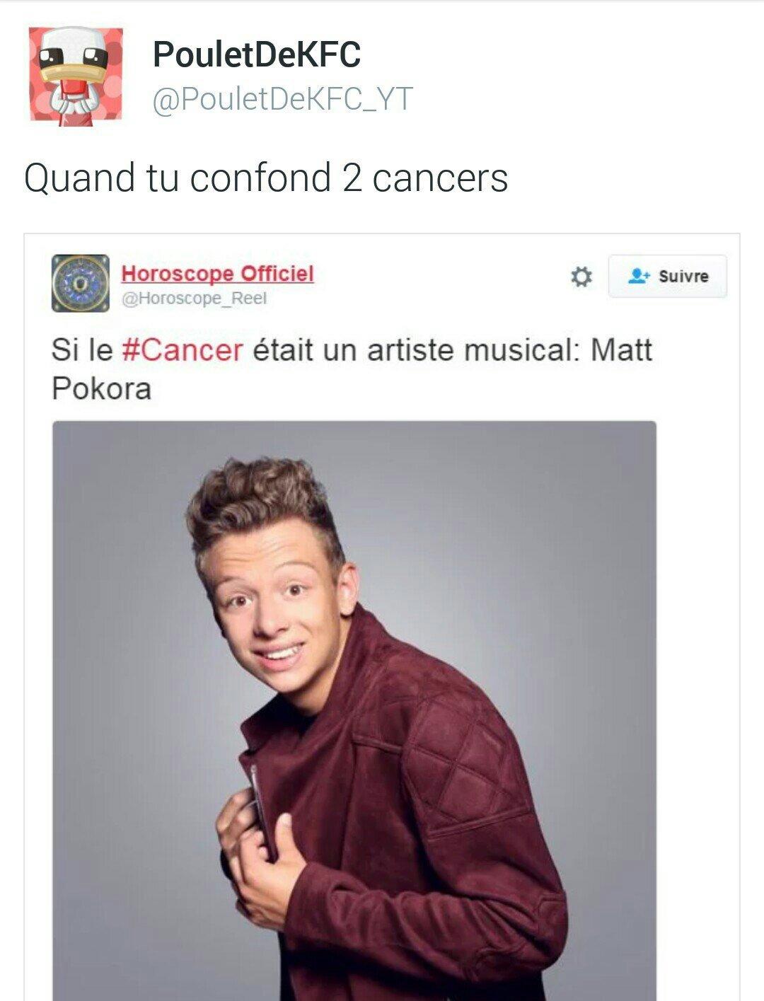 Le cancer ? C'est mortel \o/ - meme