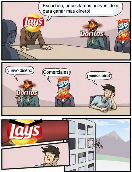 Alguien de aqui le gusta las lays - meme