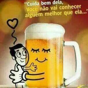 Cerveja never ends - meme