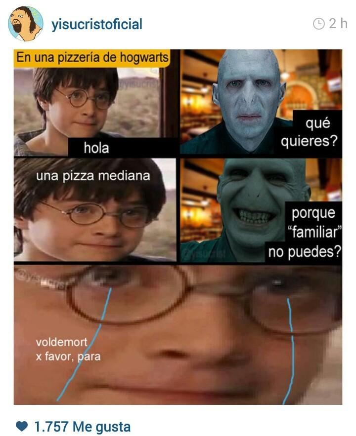 Hogwarts - meme