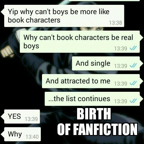 Fanfiction - meme