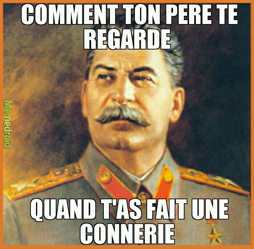 Papa Stalin - meme
