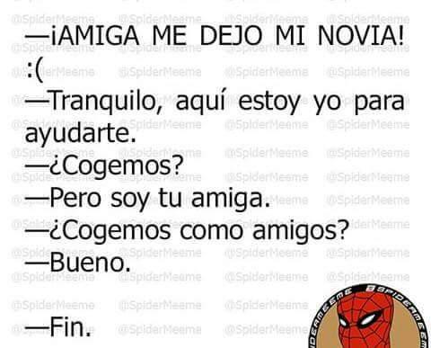 Buenas amistades ( ͡ ͡° ͜ ʖ ͡ ͡°) - meme