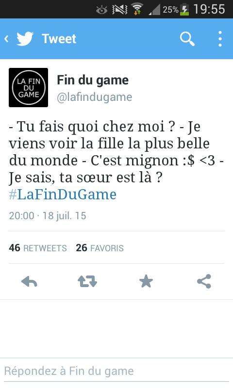 #lafindugame - meme