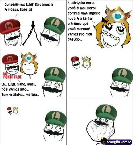 ( ͡° ͜ʖ ͡°) , mario verde alone ;-; - meme