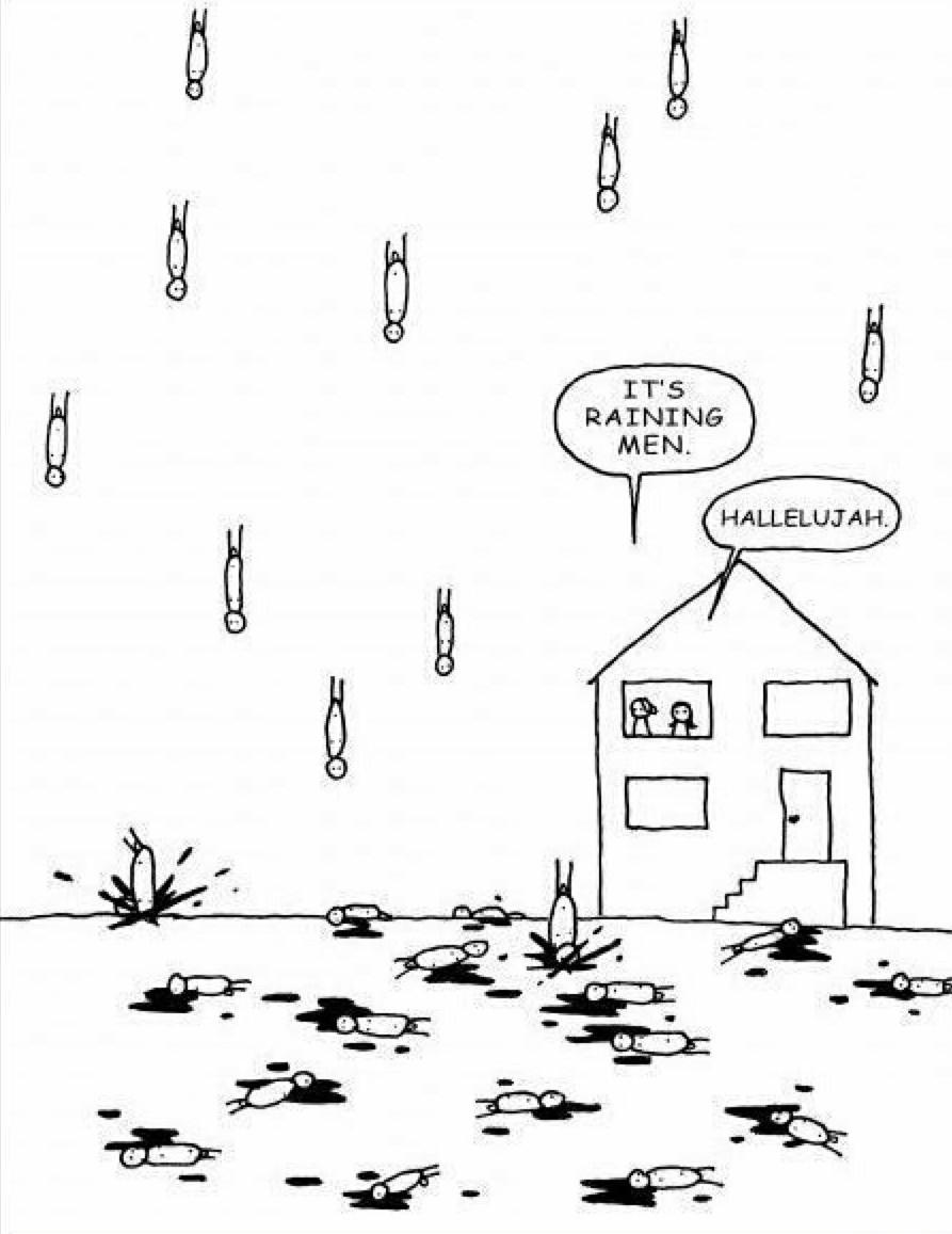 It's raining men !                   Et 100e même ! - meme