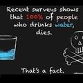 omg I drink water