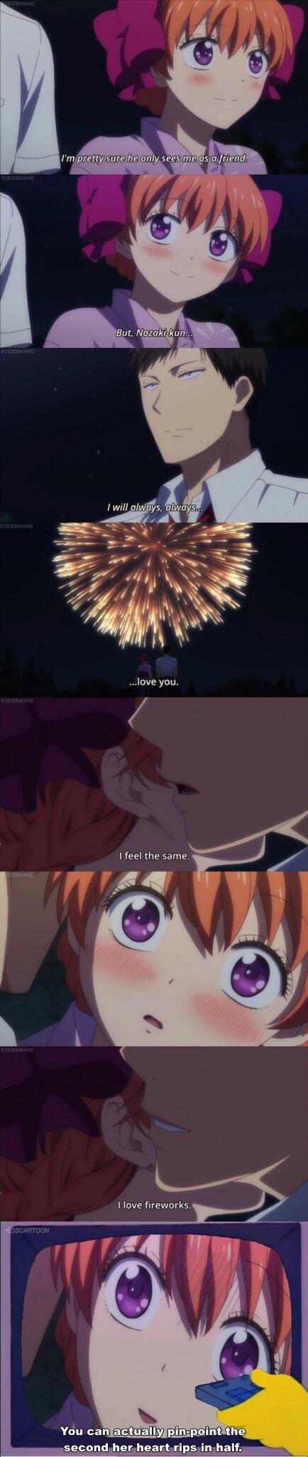 Anime is Gekkan Shoujo Nozaki-kun - meme