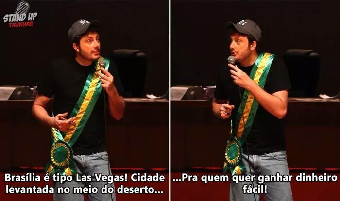 Brasília vs las vegas - meme