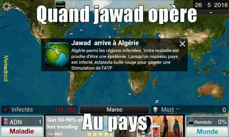 Sacré jawadounet - meme