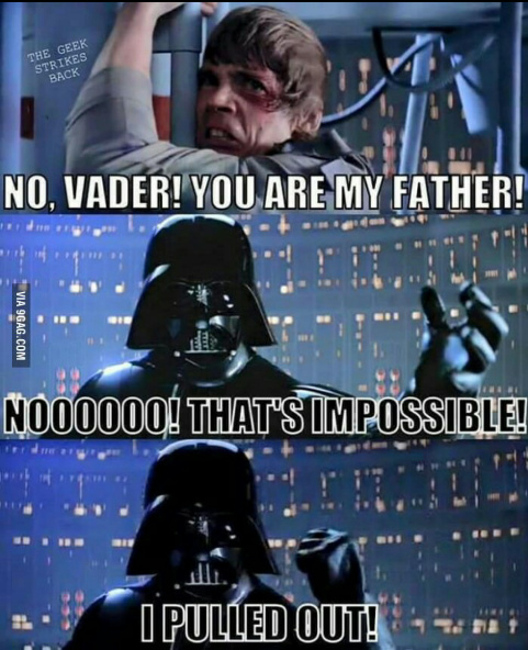 Im not your daddy - meme