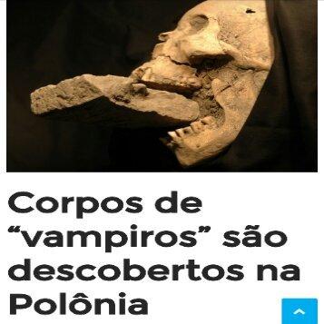 Vampiros existiram.  Ou não! - meme