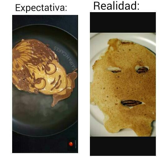 Pancake fail - meme