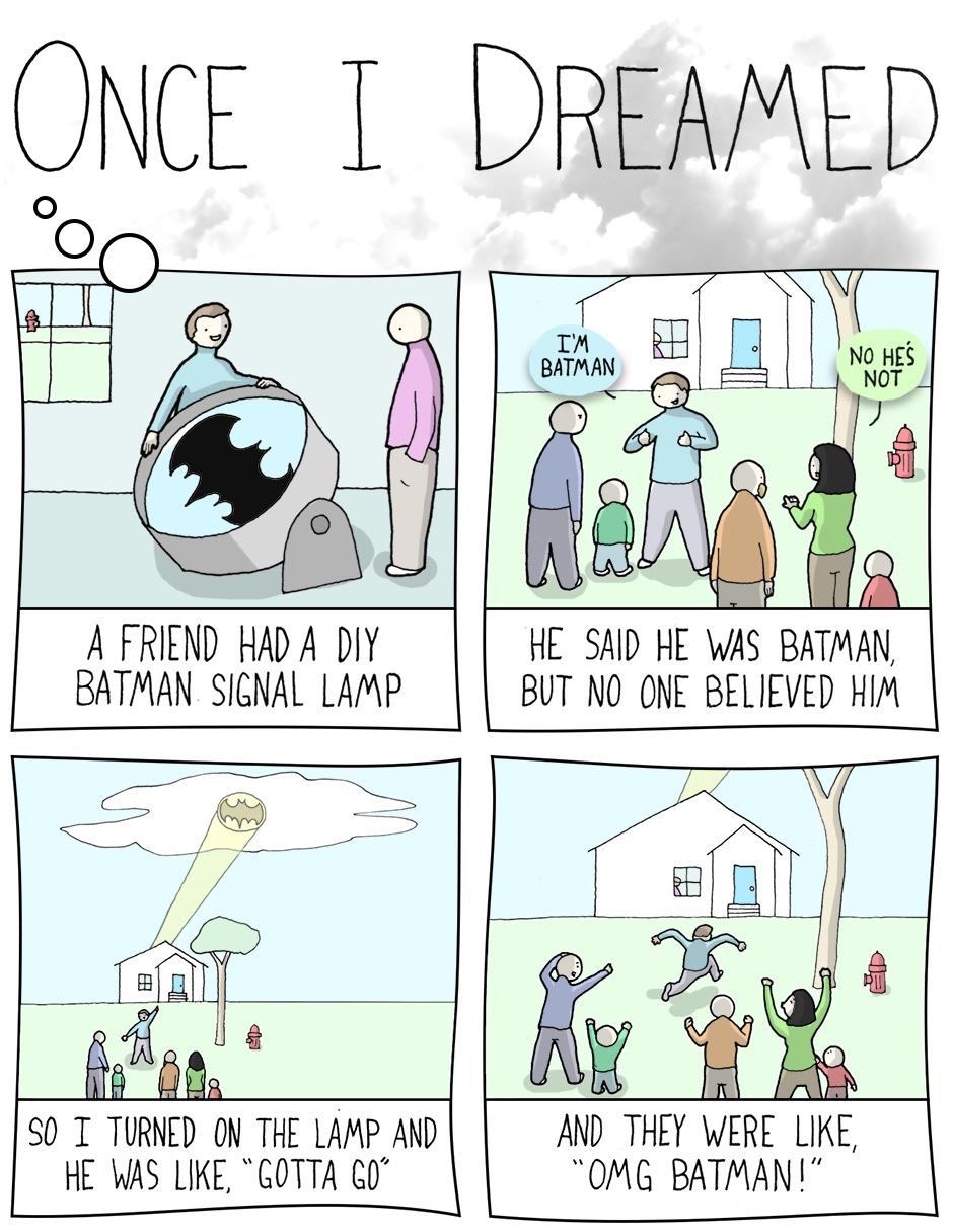 First comment is Batman - meme