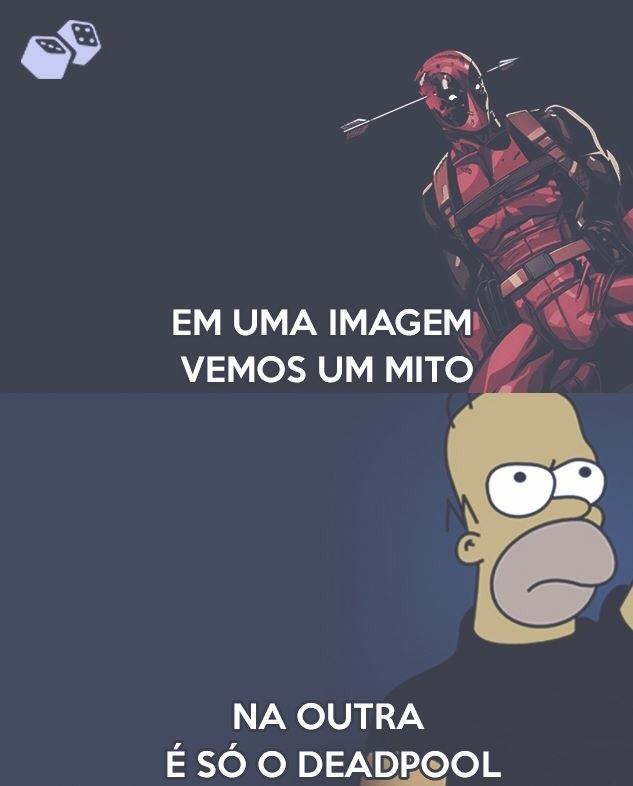 homer>deadpool - meme