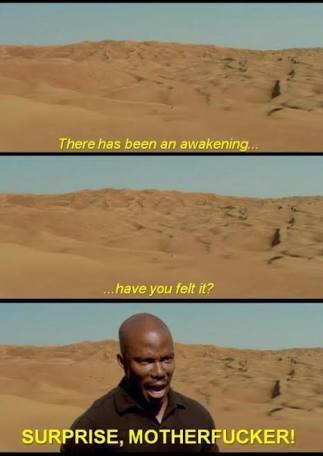Doakes awakens - meme