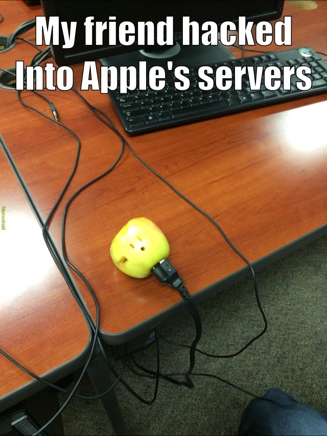Apple Servers - meme