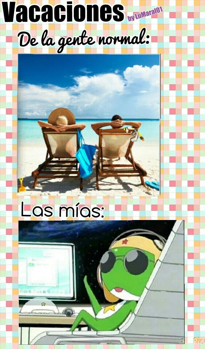 Vacaciones - meme