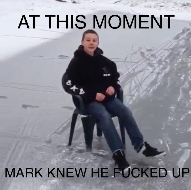 Mark you failed. - meme