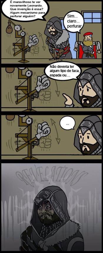 |Da Vinci manjava das potaria| - meme
