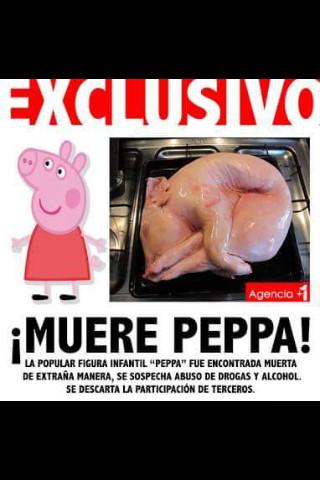 Q.E.P.D PEPPA - meme