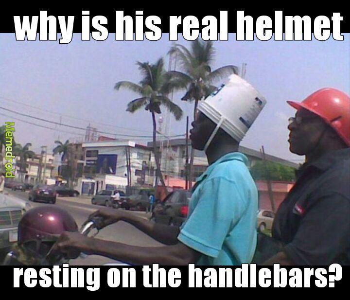 Bucket head - meme