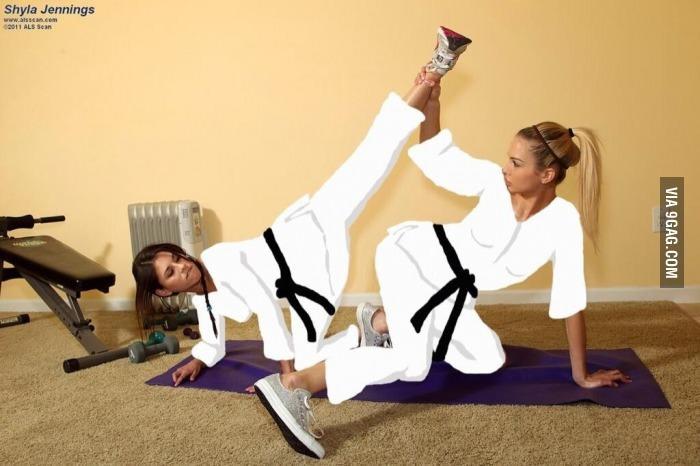 Its just karate. - meme