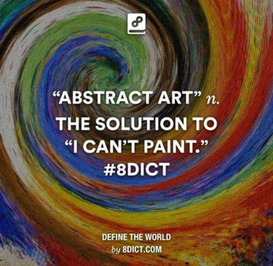 Absract art... - meme
