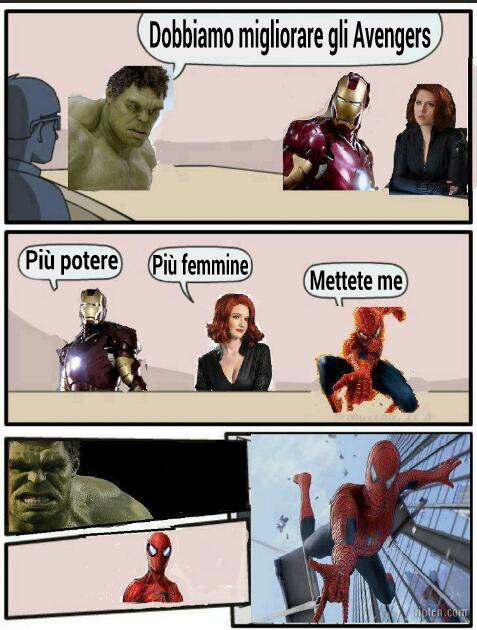 Avenger suggestion - meme