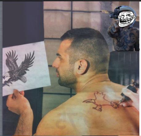 Méchant tatoueur :( - meme