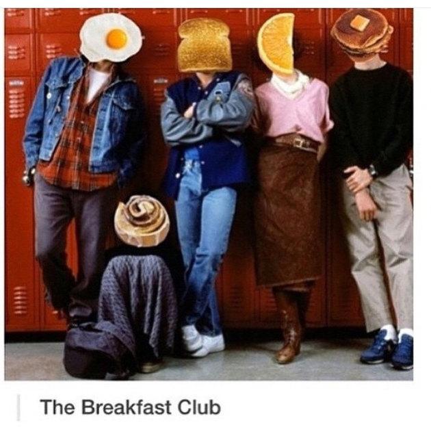 I love me some breakfast - meme