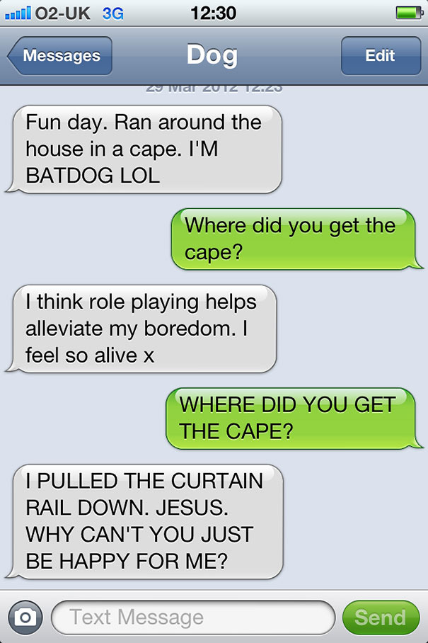 Texts from dog - meme