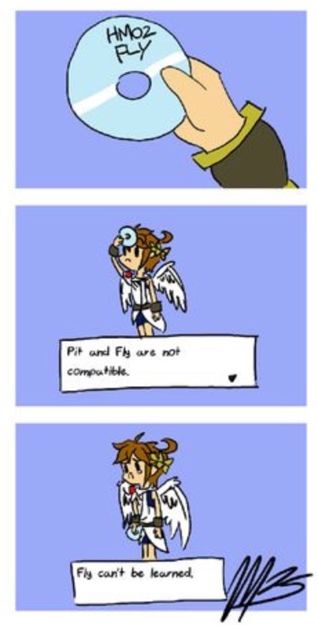 Pit is so cute - meme