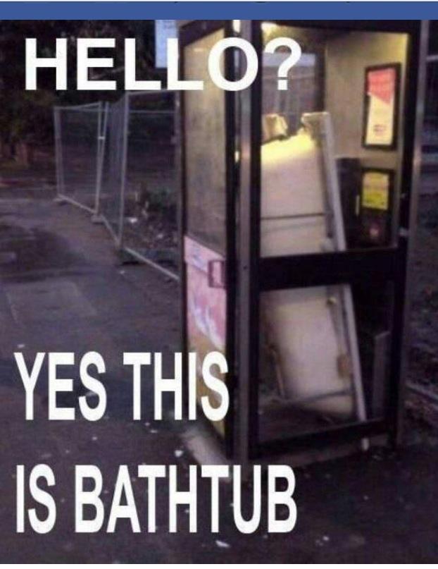 THIS IS BATHTUB!!!!! - meme