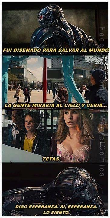Ese Ultron.  - meme
