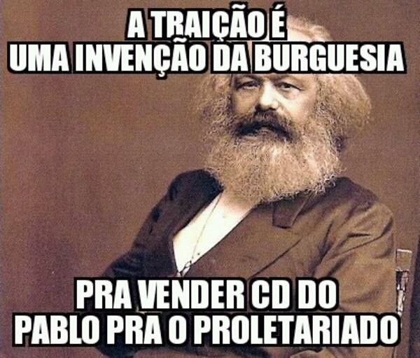 O titulo foi ouvir cd do Pablo - meme