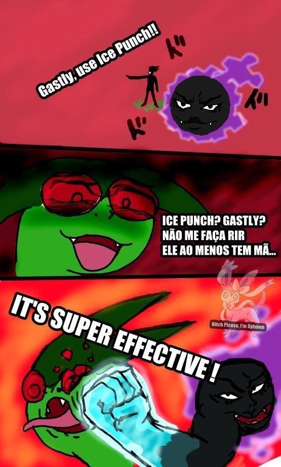 NINGUÉM ZOA COM UM GASTLY - meme