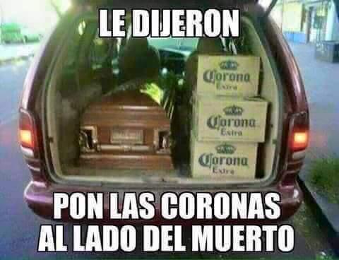 Coronas - meme