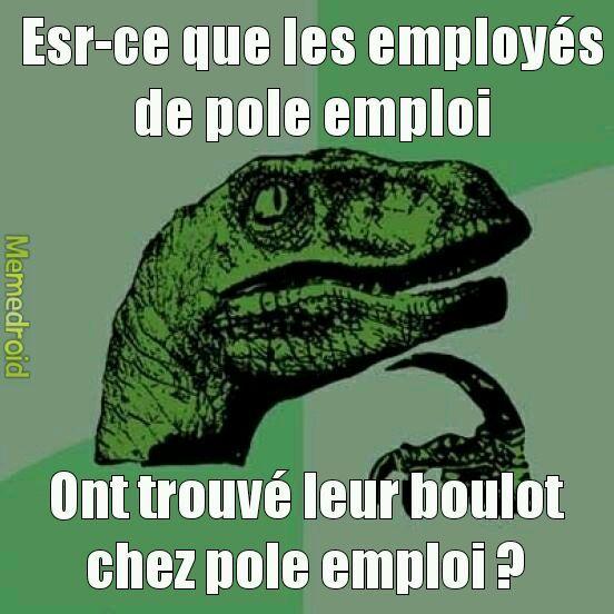 Pole emploi - meme