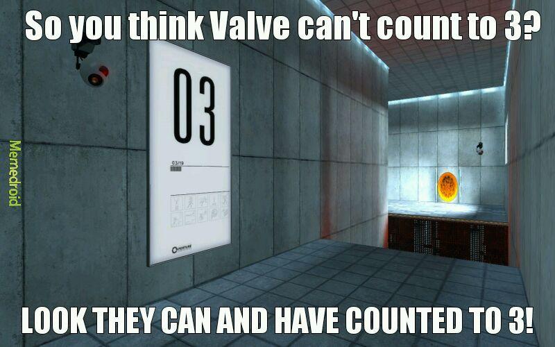 Favorite Valve game? - meme