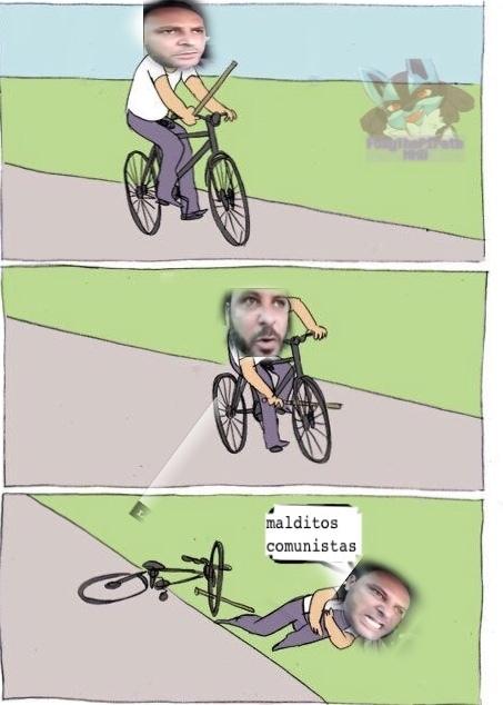 comunistas de merda - meme